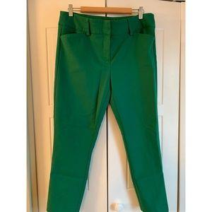 NY & Co. Green Pants Size 12 - Like New!